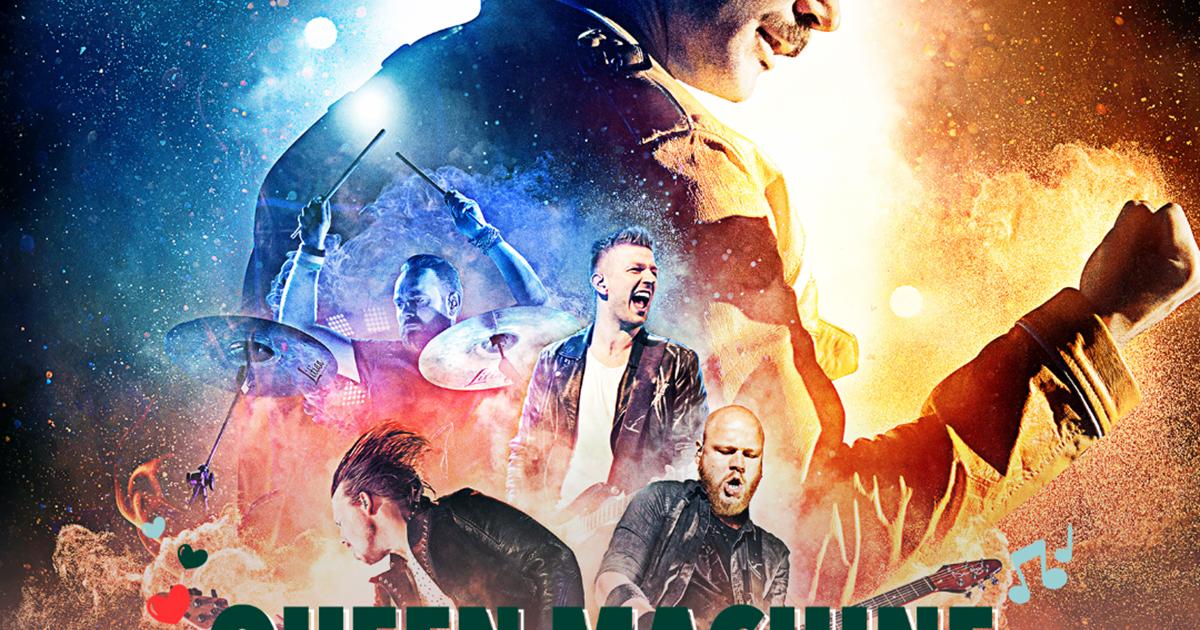 Queen Machine på Smukfest 2018